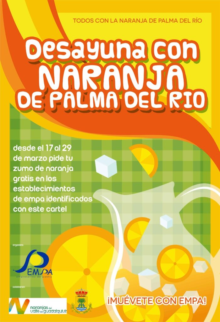 cartel naranja